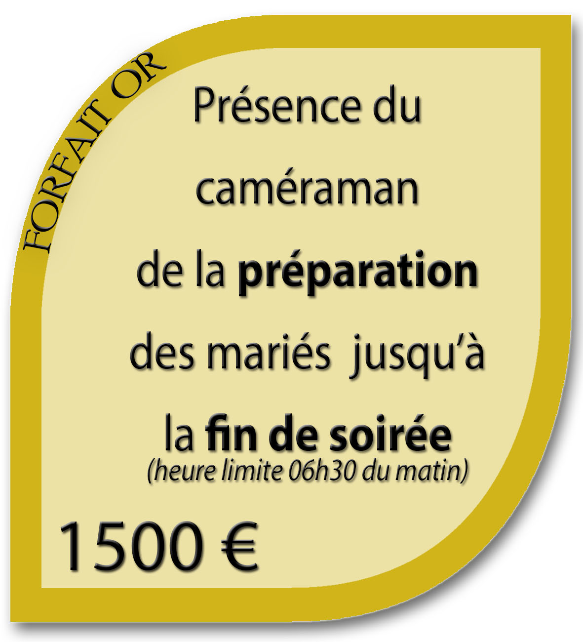 les frais de dplacements sont inclus pour lile de france marseille aix en provence et toulon nous nous dplaons dans toute la france et calculons - Tarif Camraman Mariage
